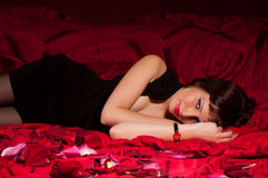 An attractive young woman Royalty Free Stock Photo