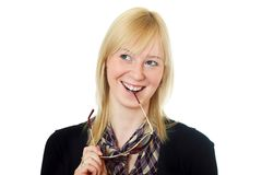 Attractive young woman Stock Photos