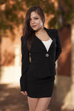 Attractive young woman in business attire. Stock Image