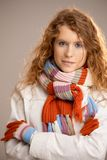 Attractive young woman dressed up for winter fun Royalty Free Stock Photography