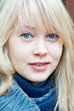 Attractive young woman from Finland Royalty Free Stock Image