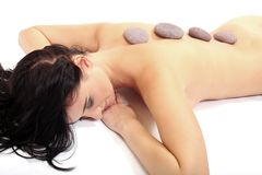 Free Attractive Young Woman Getting Spa Treatment. Stock Image - 12843901