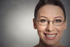 Attractive Young Woman With Glasses Royalty Free Stock Image
