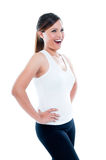 Attractive Young Woman Laughing Stock Images