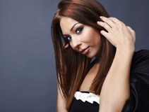 Attractive young woman with red hair Royalty Free Stock Images