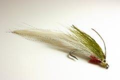Attrait de truite pour la pêche de mouche Photographie stock