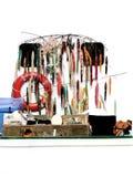 Attraits artificiels de palan de pêche de jeu et de sport Image stock
