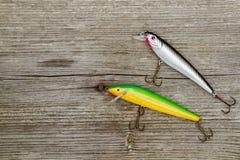Attraits pour la pêche de brochet Image libre de droits