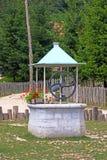 Attraktionbrunn Arkivfoto