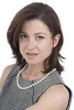 attraktiv affärskvinnastående fotografering för bildbyråer