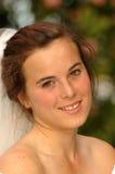 attraktiv brud Royaltyfri Foto