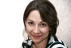 Attraktiv caucasian kvinna Arkivbilder