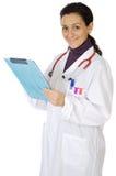 attraktiv doktorslady Fotografering för Bildbyråer