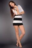 attraktiv flicka Royaltyfria Bilder