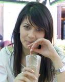 attraktiv flicka royaltyfri foto
