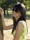 attraktiv flicka Royaltyfri Fotografi
