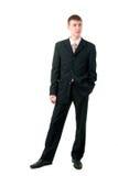 attraktiv formell manwear Fotografering för Bildbyråer