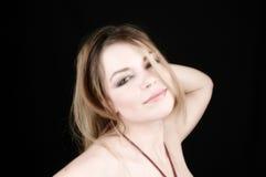 attraktiv kvinna 11 Fotografering för Bildbyråer