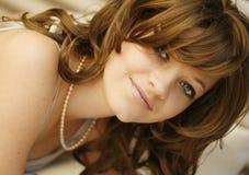 attraktiv kvinna 2 royaltyfria foton