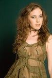 attraktiv kvinna Royaltyfri Foto