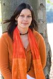 attraktiv kvinna Royaltyfri Fotografi