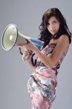 attraktiv kvinnlig Fotografering för Bildbyråer