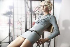attraktiv lady royaltyfria foton