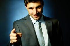 attraktiv ledare royaltyfri fotografi