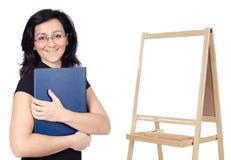 attraktiv lärare Arkivbilder