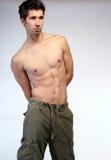 attraktiv manlig Fotografering för Bildbyråer