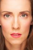 Attraktiv medelålders kvinna Royaltyfria Bilder