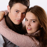 attraktiv parförälskelse Royaltyfria Bilder