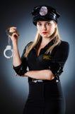 Attraktiv polis Royaltyfria Foton