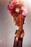 Attraktiv sexig kvinna Royaltyfri Fotografi