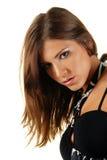 attraktiv skönhetkvinnlig Fotografering för Bildbyråer