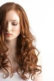 attraktiv tonårs- flickastudio arkivbilder