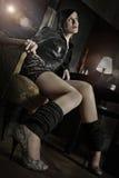 Attraktiv ung kvinna Royaltyfri Foto