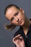 Attraktiv ung kvinna Royaltyfria Foton