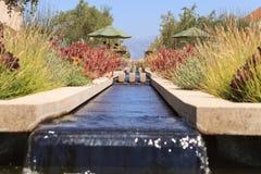 Attraktiv vattenspringbrunn Royaltyfri Foto