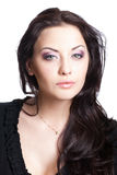 attraktiv vit kvinna royaltyfria foton