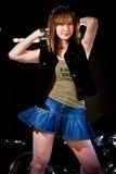 Attraktive asiatische chinesische Vierzigerfrau Stockfoto
