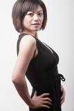 Attraktive asiatische Frau Lizenzfreies Stockbild