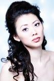 Attraktive asiatische Frau Lizenzfreie Stockbilder