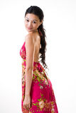 Attraktive asiatische junge Frau Stockbild