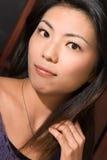 Attraktive asiatische Schönheit Lizenzfreies Stockbild