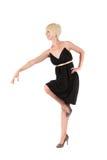 Attraktive blonde junge Frau Lizenzfreies Stockfoto