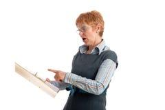 Attraktive fällige Geschäftsfrau Stockbilder