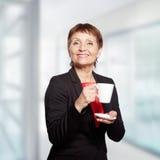 Attraktive Frau 50 Jahre Stockfotos