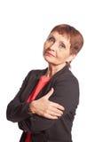 Attraktive Frau 50 Jahre alt Stockfotografie