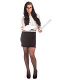 Attraktive Geschäftsfrau Stockfotos
